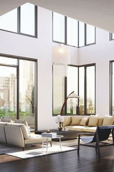 """livingpursuit: """"Condo in Manhattan by ODA Architecture """" Diy Interior, Best Interior, Home Interior Design, Interior Architecture, Interior Decorating, Style At Home, Formal Living Rooms, Living Spaces, Sweet Home"""