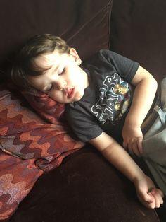 Post-party nap