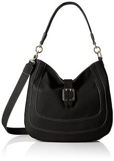 7719765215 NEW NINE WEST THE LUSH LIFE BLACK HOBO HANDBAG PURSE  hobo  handbag  purse