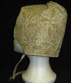 This late 16th or early 17th century coif would have been worn by women indoors, or outdoors under a hat.