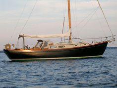 beautiful, simple sailboat