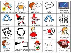 Pro Šíšu: Básničky i pro autíky Pictogram, Preschool Activities, Fairy Tales, Playing Cards, Games, Children, Music, Autism, Young Children