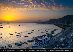 https://flic.kr/p/4ot1eF | Yemen - Sunset in Al Mukhala |  Join me on Facebook   |   Google+  |  Twitter   |   500px     |   Instagram   ~~~~~~~~~  Al Mukhala - is the capital of Hadramout and one of Yemen's ports on the Arabian Sea. It was known as Khaisa or Bandar Yakoub and has been called Mukalla only recently.  Fishermen were the first to settle in Mukalla, having immigrated from adjacent regions, In this city, the first Princedom of Al-Kasad was established in the 18th 19th century…
