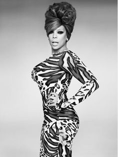 Wendy Williams channeling the 60's beehive