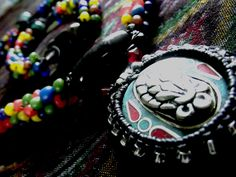 Tibet _bead and candle rope.