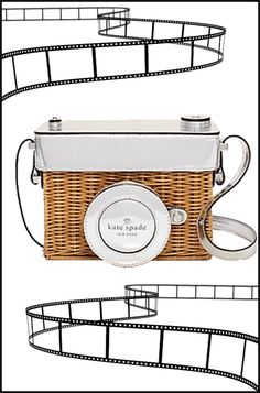 Die for Style: I wish... to carry my own original camera- kate spade