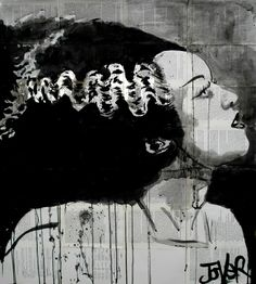"Saatchi Online Artist: Loui Jover; Pen and Ink, 2013, Drawing ""the bride (SOLD)"""