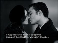 Chuck Bass and Blair - Hayley Beach - Gossip Girl. Chuck Bass and Blair Gossip Girl. Chuck Bass and Blair Gossip Girl Chuck, Gossip Girls, The Vampire Diaries, John Denver, Rick Riordan, The Good Son, My Love, Chuck Bass Quotes, Chuck And Blair Quotes
