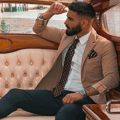 """World Wide Men Fashion on Instagram: """"Which one?"""" Blazer Outfits Men, Polo Shirt Outfits, Sharp Dressed Man, Well Dressed Men, Smart Casual, Mens Fashion Wear, Fashion Outfits, Designer Suits For Men, Masculine Style"""