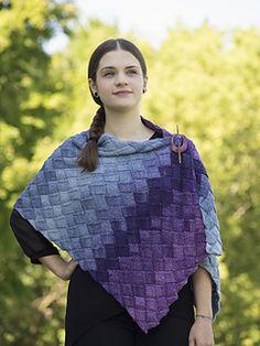 Ravelry: Entrelac Stole pattern by Katie Doyle Krot