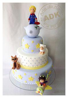 Hermoso pastel de El Principito