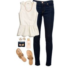 """peplum"" by classically-preppy on Polyvore"