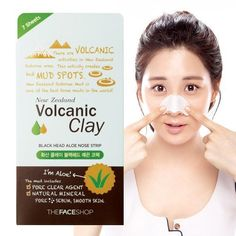 The Face Shop Volcanic Clay Blackhead Aloe Nose Strip x 7ea >>> ADDITIONAL INFO @ http://www.sheamoistureproducts.com/store/the-face-shop-volcanic-clay-blackhead-aloe-nose-strip-x-7ea/?b=0283