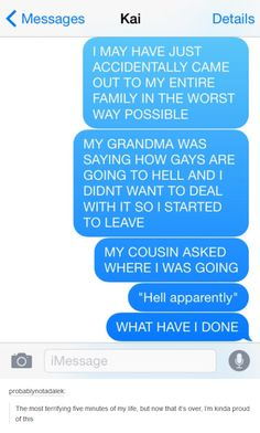 A girl accidentally came out to her family and totally burned her homophobic grandma. | LGBT | Someecards