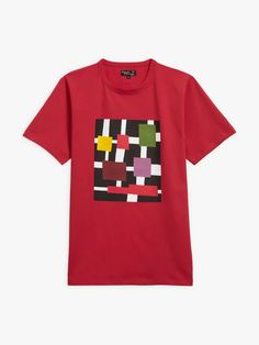 t-shirt coulos Mel Bernstine rouge T Shirt, Mens Tops, Collection, Fashion, Red, Supreme T Shirt, Moda, Tee, Fashion Styles