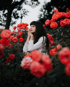 Gorgeous Flower Portrait Photography by Paarsa Hajari #art #photography #Portrait Photography