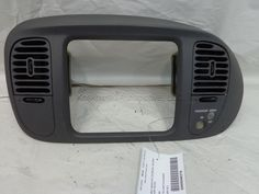 Ford F150 Center Cash Bezel Graphite OEM 97 98 w/o 4x4 switch F75Z15044D70AAE #Ford