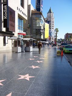 Hollywood Walk of Fame, Los Angeles, California Hollywood Boulevard, Hollywood Walk Of Fame, Hollywood Stars, Hollywood California, California Usa, Los Angeles Hollywood, Highland Homes, Tourist Information, City Of Angels