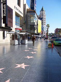 Hollywood Walk of Fame, Los Angeles, California Hollywood Boulevard, Hollywood Walk Of Fame, Hollywood Stars, Los Angeles California, California Usa, Places Ive Been, Places To Go, Los Angeles Hollywood, Highland Homes