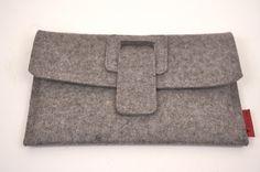 iPad mini Kindle Nexus Nook Wool Felt Case par PinsnNeedlesCases