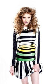 Dresses – Striped Dress LeMat – a unique product by LeMat-Butik on DaWanda
