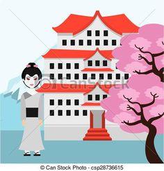 Travel japan Illustrations and Clip Art. 4,861 Travel japan ...