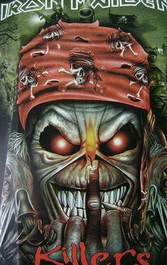 Iron Maiden's - Killer's