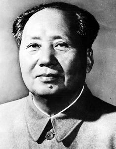 Mao Zedong: introduces the communist state to China in 1949.
