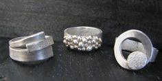 Zilver juwelen maken workshop in Asse (checken via Suprisefactory.be) Clay Jewelry, Metal Jewelry, Jewelry Rings, Precious Metal Clay, Druzy Ring, Silver Rings, Wedding Rings, Engagement Rings, Earrings