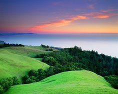 Ocean Sunset, California