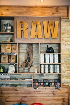 Like - chunk 'a wood- Ground - Raw Cafe Buderim, QLD