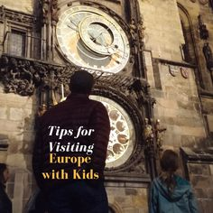 Tips for Visiting Europe with Kids - Adventure Mom Travel With Kids, Family Travel, Lake Tahoe Summer, Travel Planner, Trip Planner, Airfare Deals, Last Holiday, European Holidays, Cruise Vacation