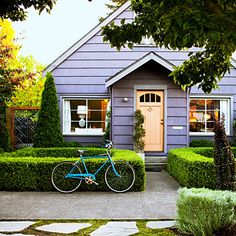 Front door makeover: Pair contrasting colors for pop