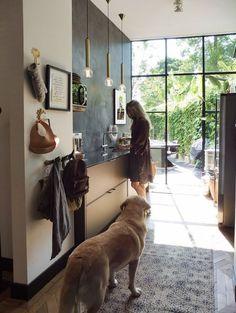 Scandi Home, Living Spaces, Living Room, Interior Inspiration, Kitchen Inspiration, Decoration, Exterior Design, Home Kitchens, Modern Farmhouse