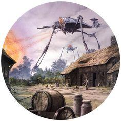 The Martians   Art by Rodney Matthews