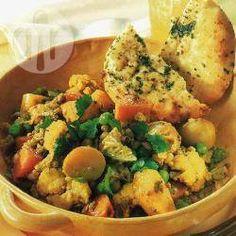 Gemüse-Curry mit Mungbohnen