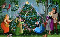 Christmas Tree, Walt Disney, Fairytale, Animated Film, Fanart, Movie, Christmas…
