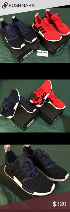 634bfb637 Two pair of Adidas Originals NMD R1 size 9.5. Two pair of Adidas Originals  men s