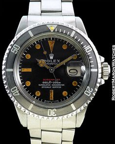 ROLEX TROPICAL RED SUBMARINER 1680