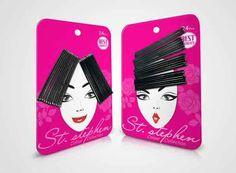 creative ideas design packaging st. stephen hair accessories