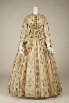 Dress 1856 The Metropolitan Museum of Art