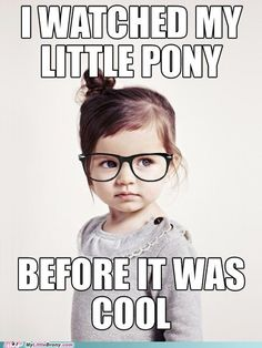 my little pony, friendship is magic, brony - Hipster Demographic