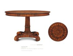 Mexican Neoclasic Table by Alfonso Marina Ebanista