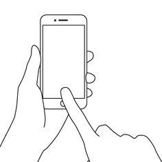 14件free Smartphone And Smart Hand Illustrations スマートフォン