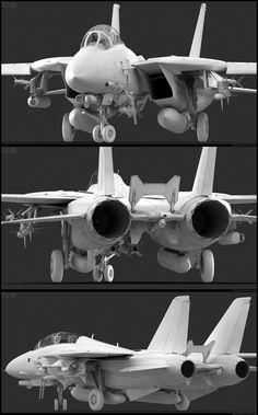 F-14D Exterior Modeling by *Siregar3d on deviantART