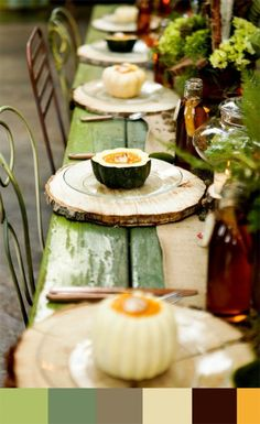 Wood chargers! Save on crafts website! #tablescapes #centerpieces