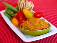 Sun Dried Tomato Basil Hummus