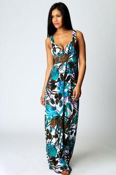Pretty holiday maxi dress