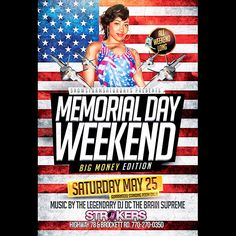 memorial weekend atlanta 2015