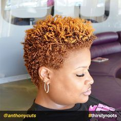 Golden twists short natural do Short Natural Styles, Natural Hair Short Cuts, Short Natural Haircuts, Short Hair Cuts, Natural Hair Twa, Natural Beauty, Short Styles, Natural Tapered Cut, Tapered Twa